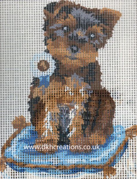 Prize Winning Terrier Tapestry Kit